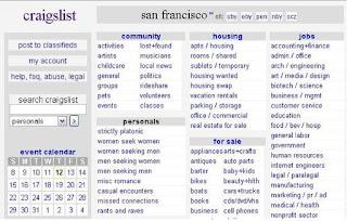 a52bdb7588 Az egyik ilyen legismertebb oldal a www.craiglist.com. Ez leginkább egy  mindenes oldal. Itt lehet hirdetni bármit és bármilyen hirdetést is találni.