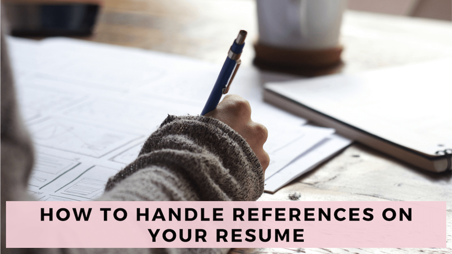 how to handle references on your resume  full guide