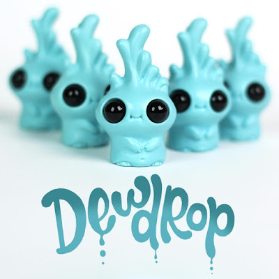 Seafoam Dewdrop Resin Mini Figure by Chris Ryniak