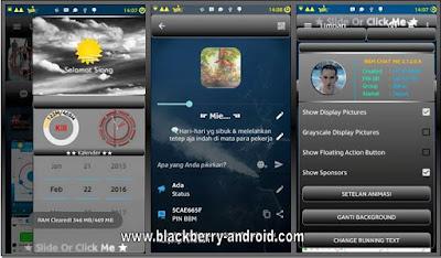 BBM MOD-Chat Me Gradient Black V2 Based 2.12.0.9 APK