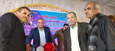 مركز شباب ميت الديبه يتقدم بالتهنئة لترقيه السيد المشد مديرا لإدارة شباب قلين
