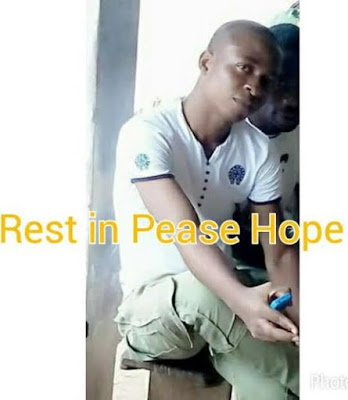 nysc corper stabbed to death imo state