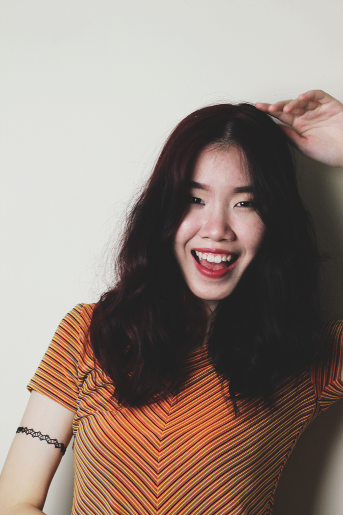 Brunei Blogger May Cho of THE MAYDEN, haircut