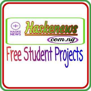 Free Microbiology Project Topics For Undergraduates and Postgraduates Students