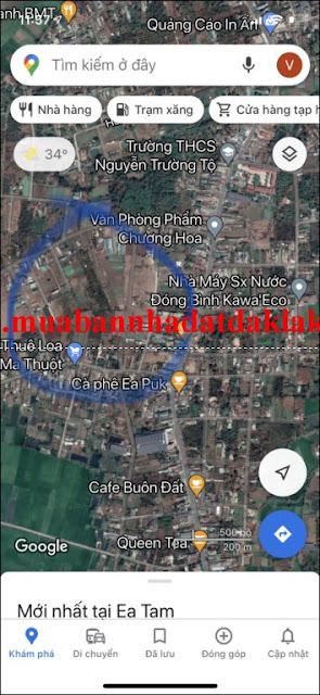 Bán nhà Thôn Tân Hưng Xã Ea Kao Buôn Ma Thuột 850 triệu
