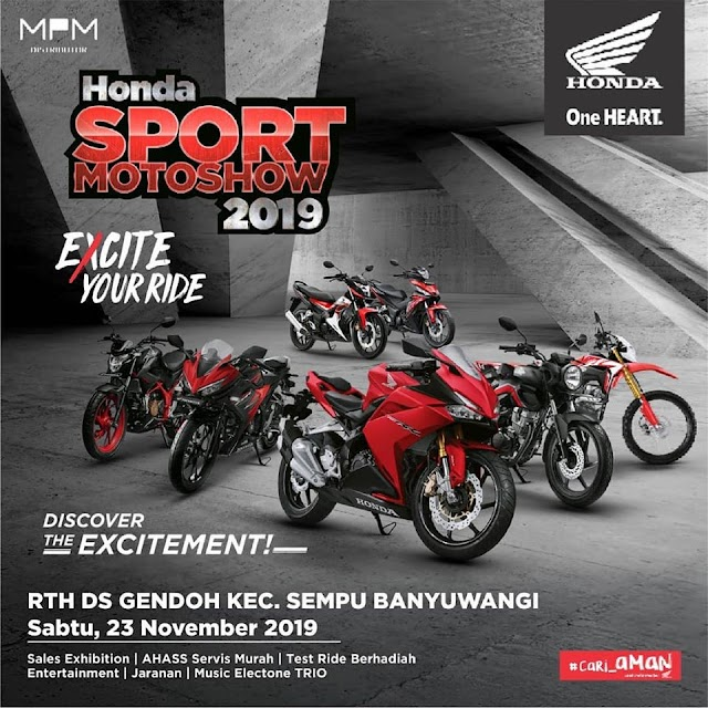 Honda Sport Motor Show 2019 Banyuwangi