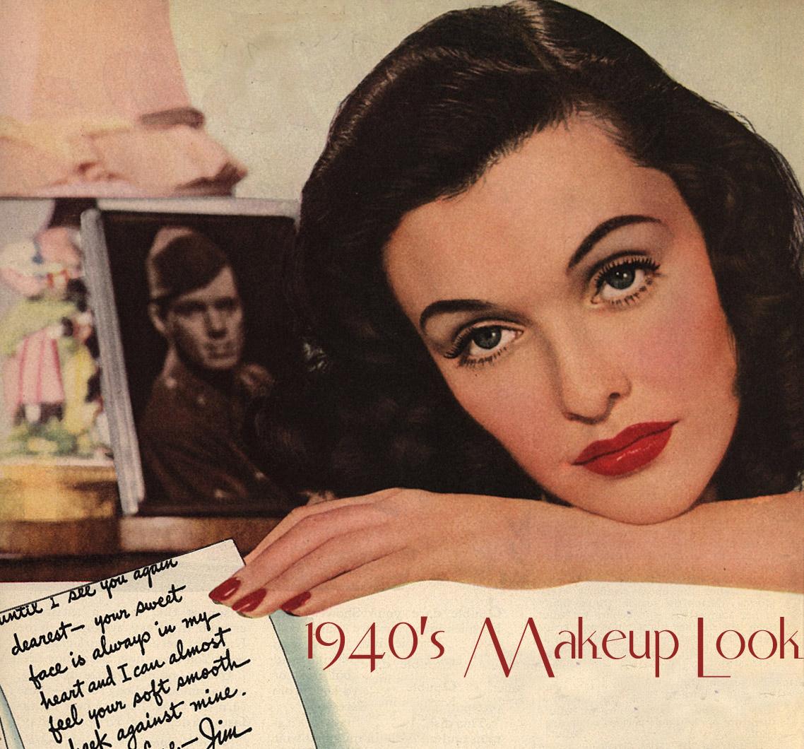 Raina's MakeUp Blog: 1940's Make-up Look - The Red Lipstick