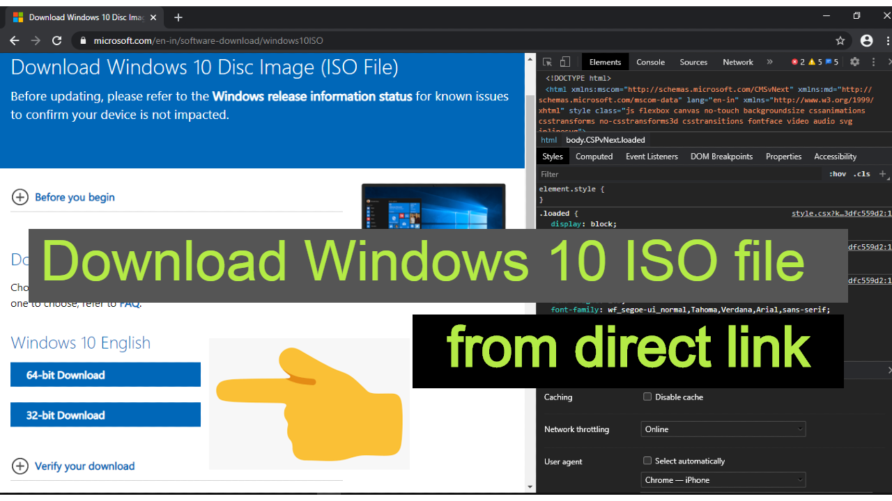 Download Windows 10 May 2020 Latest ISO images 32-bit and 64-bit