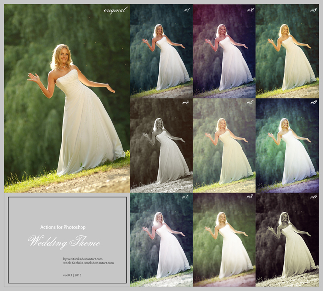 15 packs de acciones gratis para photoshop saltaalavista for Photoshop wedding photos