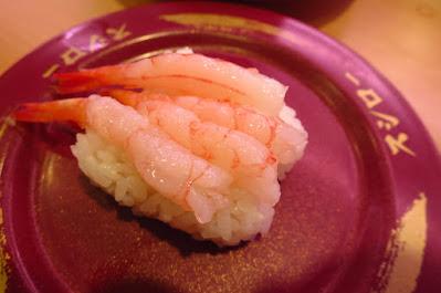 Sushiro, albacore tuna nigiri