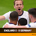 Euro 2020: Past Ripped Up as England defeats Germany 2-0 in Round of 16