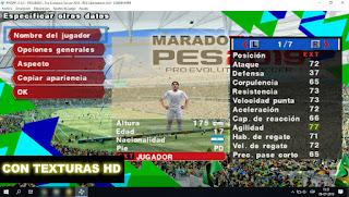 iso del juego pes 2018 - 2019 copa libertadores maradotv