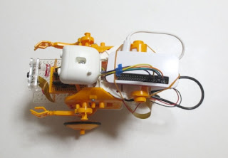 Raspberry Pi Zero WHでロボット(上)