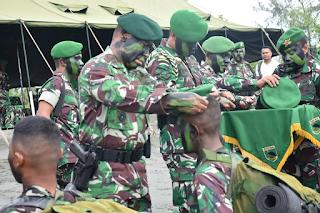 Pembaretan Prajurit Infanteri TNI AD