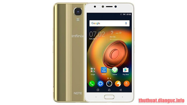Rom stock cho Infinix Note 4 (X572) (MT6753)