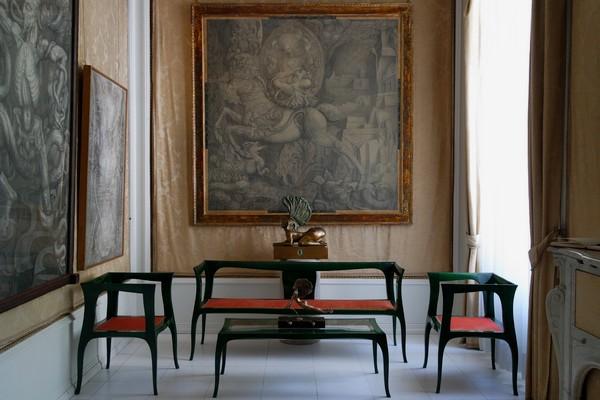 vienna vienne otto wagner villa ernst fuchs museum hütteldorf penzing salon chimney parlor