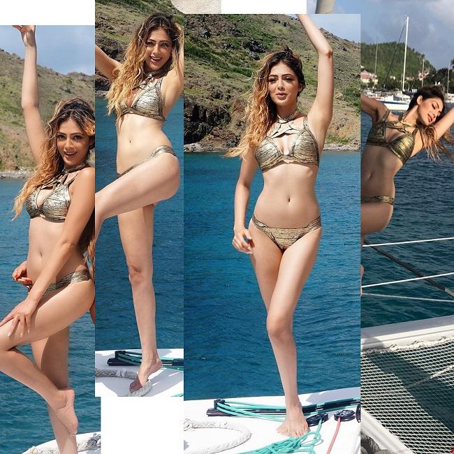 Parvathi Melton Hot Bikini Photos Goes Viral