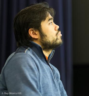 Hikaru Nakamura en el London Chess Classic 2015