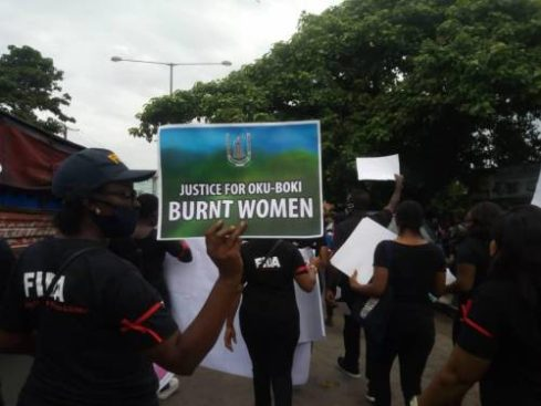 Women protest alleged burning of suspected witches, wizards in Cross River