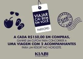 Promoção Kiabi 2019 Concorra Viagem Resort Nordeste - Pacotes Viagem com Acompanhante