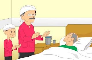 Keutamaan dan Manfaat Menjenguk Orang Sakit | Kawan Unik
