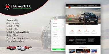 Blogger Template Sales Mobil/Rental Responsive