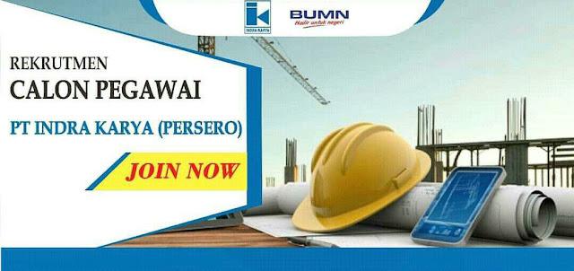Lowongan Kerja Rekrutmen Karyawan BUMN PT Indah Karya (Persero) | Posisi: Engineer Pengawasan Bendungan (EPB) Tahun 2019