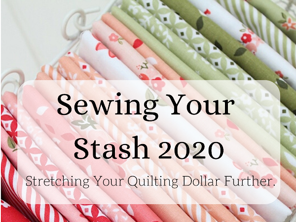 "Sewing Your Stash 2020 - Stretching Your Quilting Dollar Further. <img src=""https://pic.sopili.net/pub/emoji/twitter/2/72x72/2702.png"" width=20 height=20>"