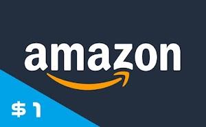 Jual Voucher Amazon Gift Cards (AGC) Nominal Satuan - USD 1 ($1) Murah