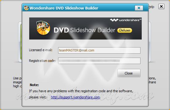dvd slideshow builder deluxe registration code