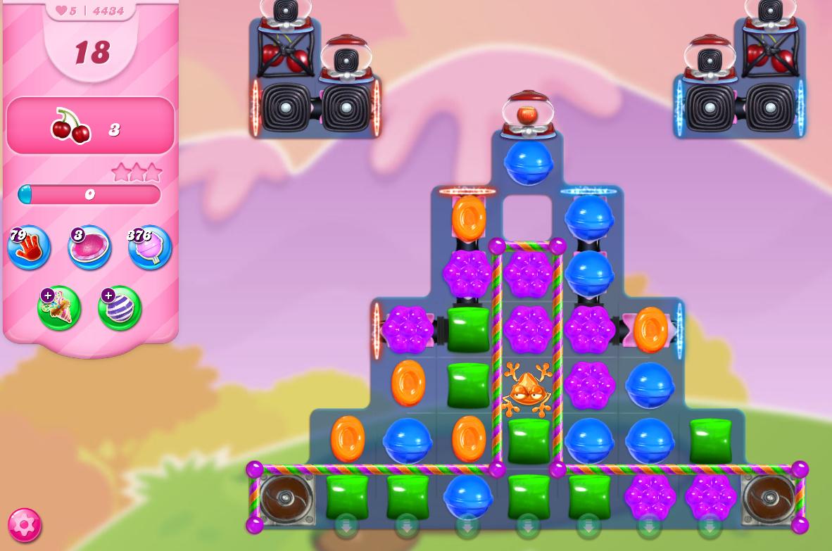Candy Crush Saga level 4434