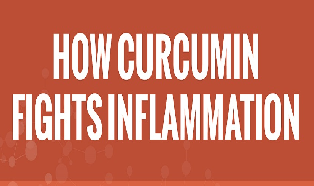 How Curcumin Fights Inflammation #infographic
