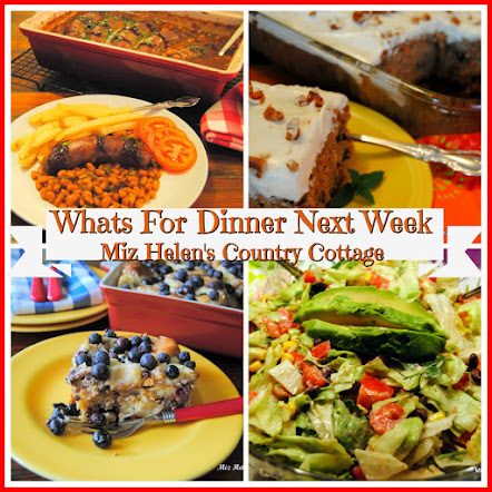 Whats For Dinner Next Week * Week Of 4-22-18