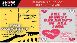 Senior Student Directed 1 Acts: 2 plays each on 2 nights