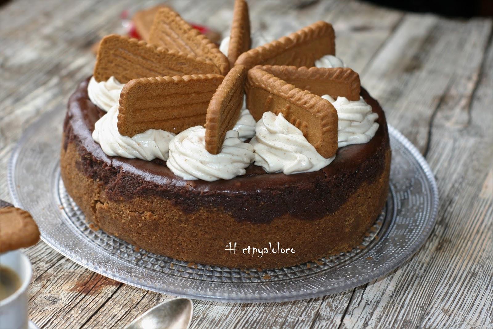 Cheesecake de chocolate y Lotus