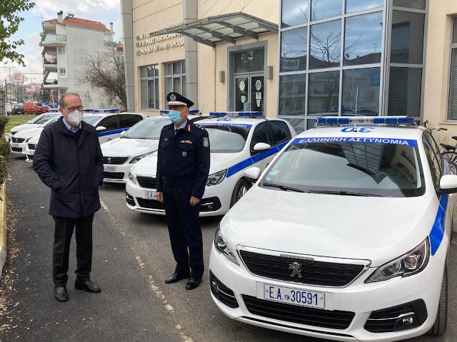 Παραδόθηκαν  20 ακόμα περιπολικά  από την Περιφέρεια Πελοποννήσου στην ΕΛ.ΑΣ.