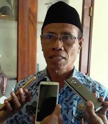 Kadis Pendidikan dan Kebudayaan Kota Tual M Zein Renhoat S.Pd.I