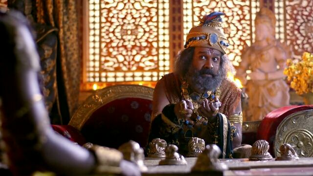Radha Krishn : Krishna - Arjun Gatha 19 August Episode