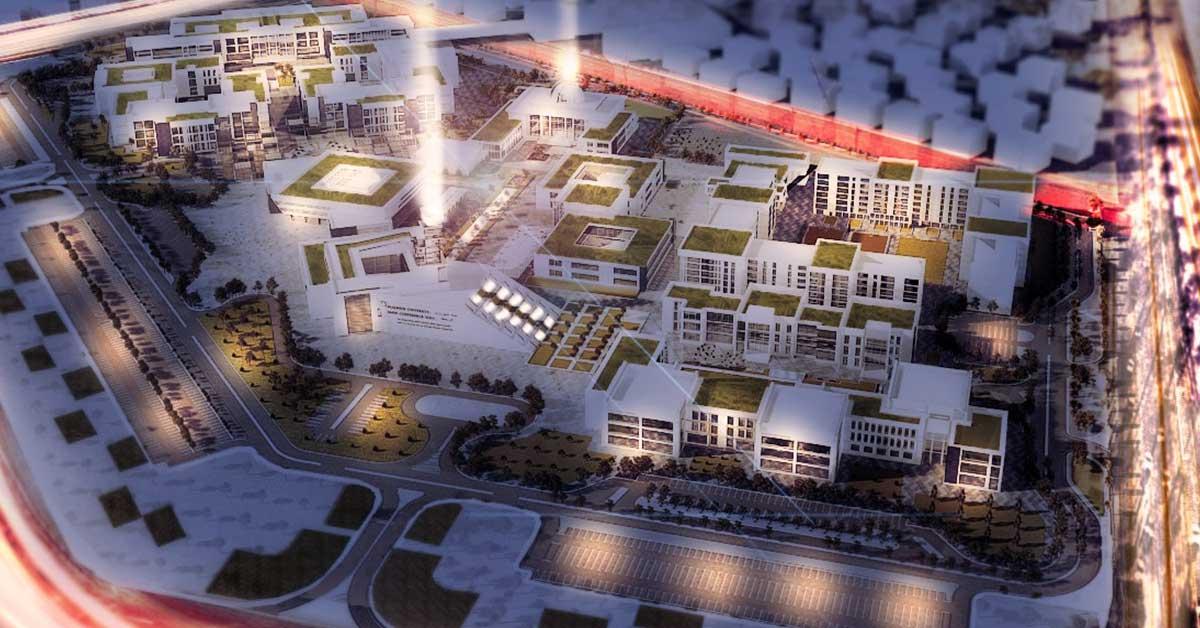 وظائف جامعة العلمين الجديدة معيدين و أفراد أمن 2021