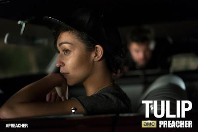 Preacher Teaser One Sheet Television Poster - Ruth Negga as Tulip O'Hare