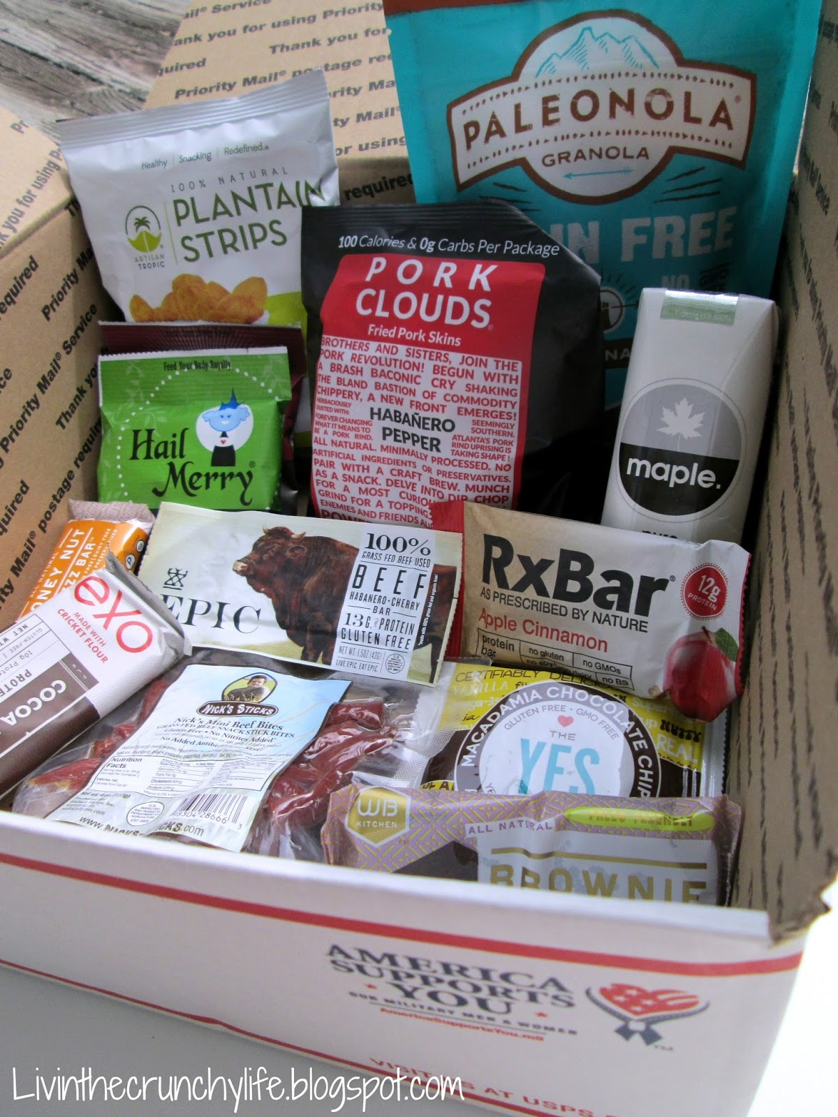 Gluten Free Military Care Packages: Paleo, Gluten-free, and