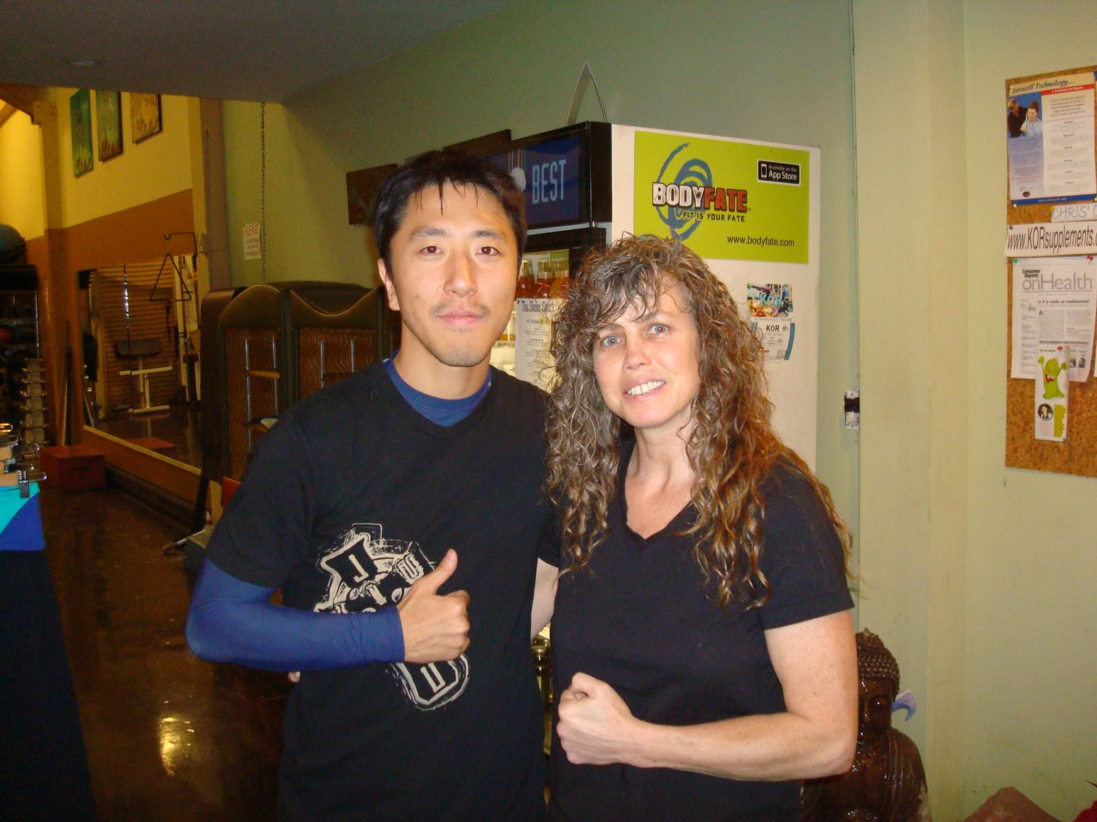 All Out Effort Blog: Training With Kathy Long