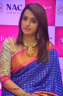 Actress Trisha Inaugurates NAC Jewellers Necklace Mela  0004