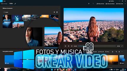 Hacer VIDEO con FOTOS y Música Windows 11