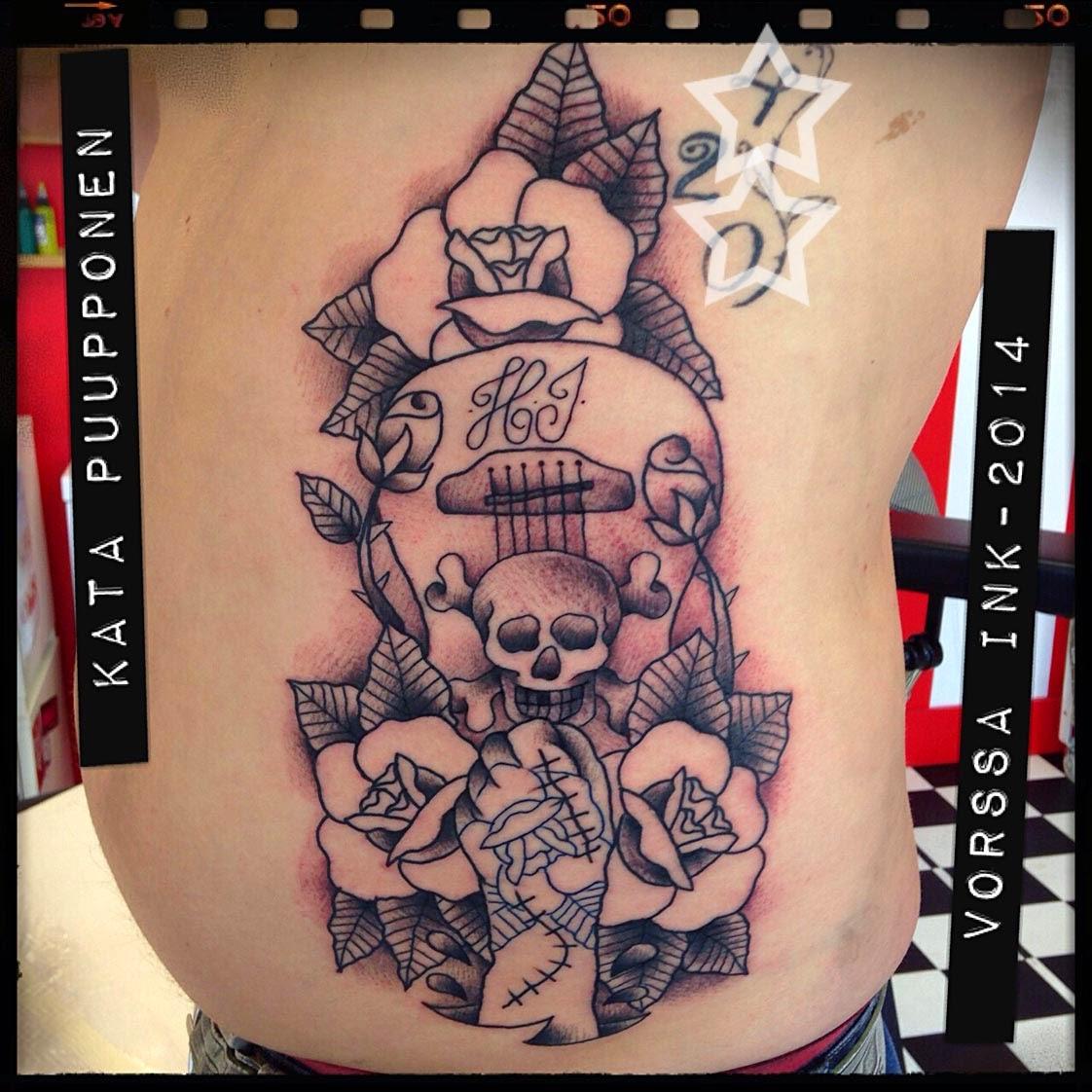 Tattoos By Kata Puupponen: Tattoos By Kata Puupponen: Huhtikuuta 2014