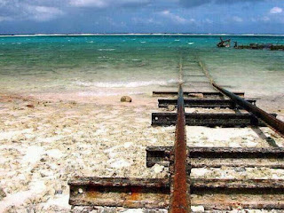 Train to Atlantis? Santa Lucia Beach in Camagüey province, Cuba