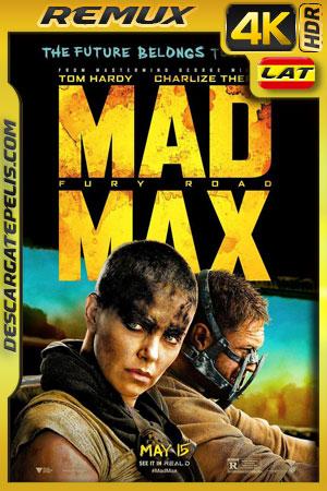 Mad Max: Furia en el camino (2015) 4k BDRemux HDR Latino – Ingles