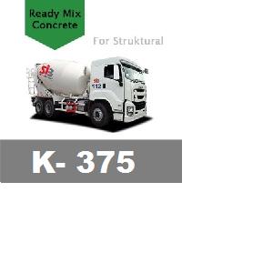 Harga Beton Cor Mutu K-375