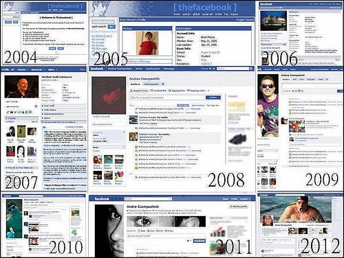 logo facebook dari masa ke masa