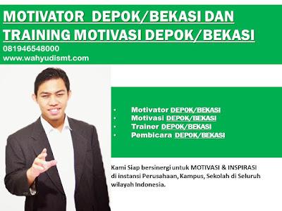 Motivator DEPOK/BEKASI DAN TRAINING MOTIVASI DEPOK/BEKASITeambuilding di DEPOK/BEKASI, TRAINING  MOTIVASI KARYAWAN DEPOK/BEKASI, Training motivasi Teambuilding DEPOK/BEKASI terpercaya, Motivator Training Teambuilding DEPOK/BEKASI, Pembicara Training MOTIVASI, Training Teambuilding DEPOK/BEKASI, hubungi kami : 081946548000